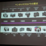 ペンタックス製品の歴史