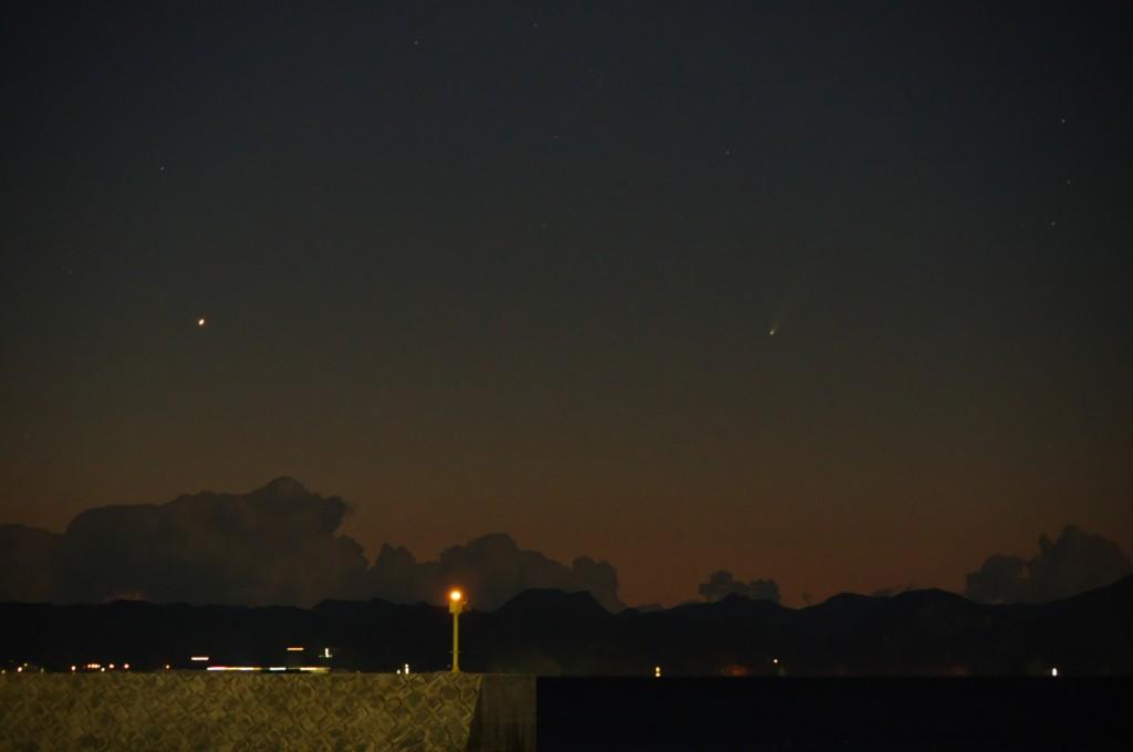 K-3でアイソン彗星